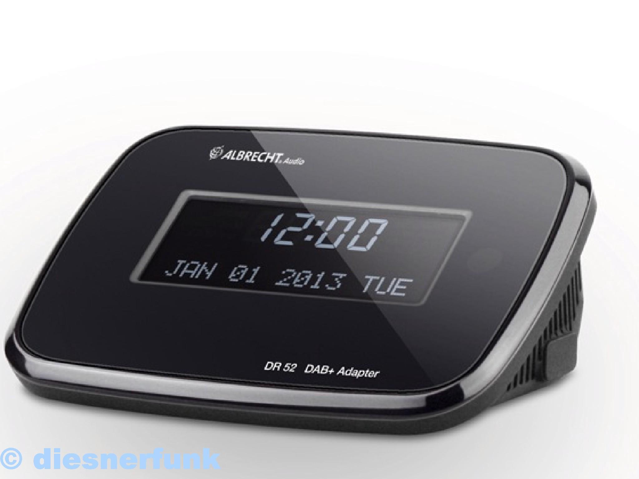 albrecht dr 52 digitalradio adapter zum anschluss an. Black Bedroom Furniture Sets. Home Design Ideas
