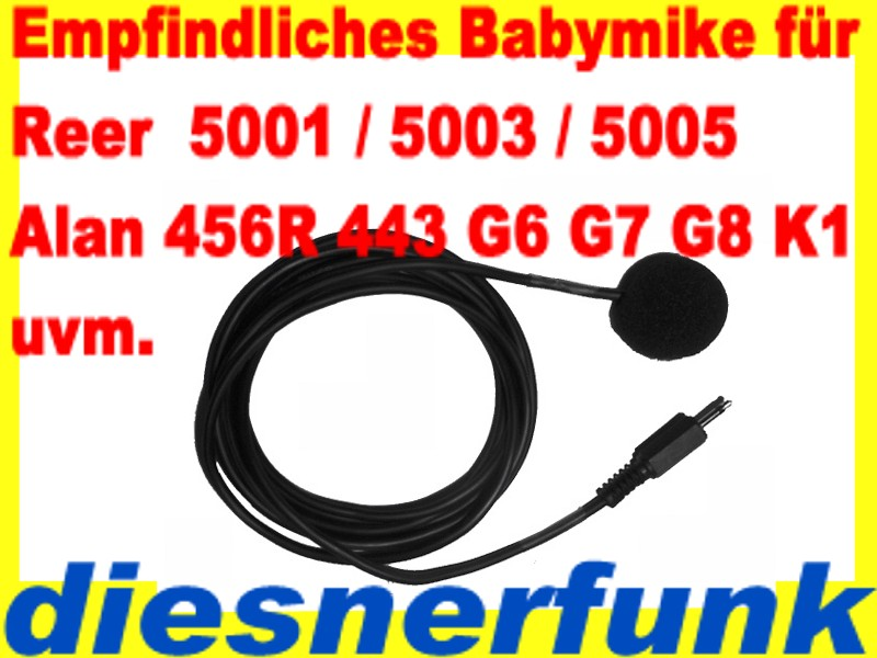 reer 5001 luca babyphone babyfon bm1 babymike pmr446 baby eltern kanal 5km ebay. Black Bedroom Furniture Sets. Home Design Ideas