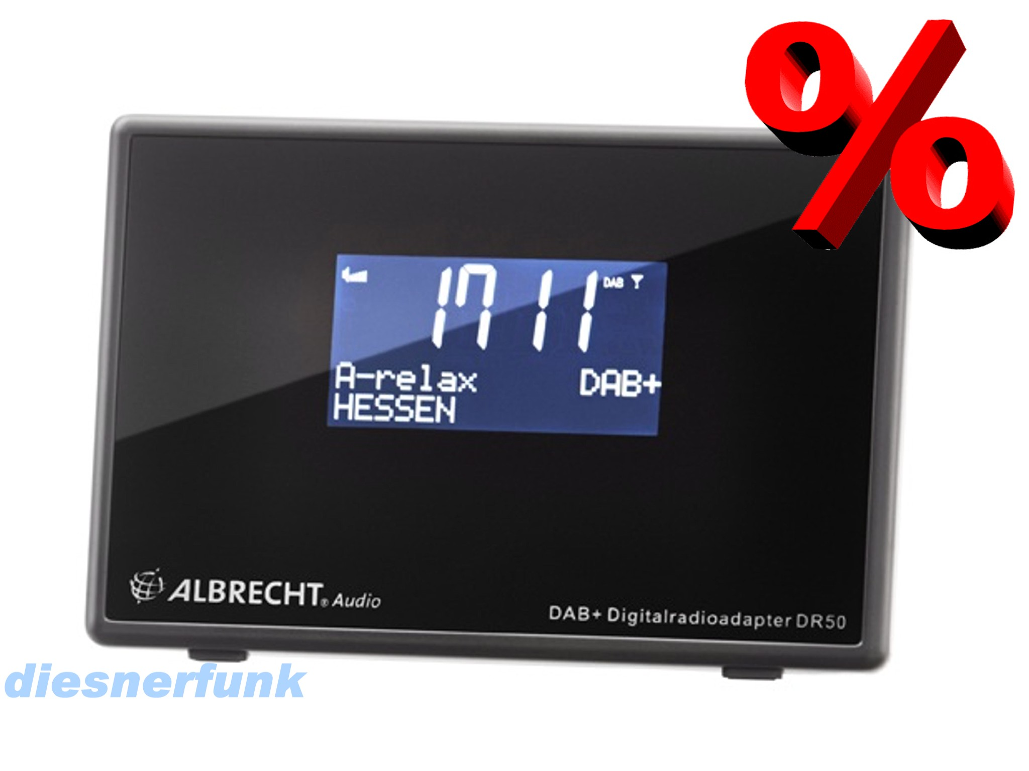 albrecht dr 50 digitalradio adapter f anschluss an. Black Bedroom Furniture Sets. Home Design Ideas