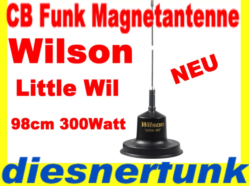 cb funk magnet antenne wilson little wil magnetantenne ebay. Black Bedroom Furniture Sets. Home Design Ideas