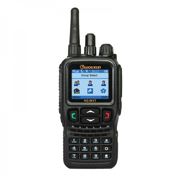 Wouxun KG-WV7 4G Push-to-talk Over Cellular Radio