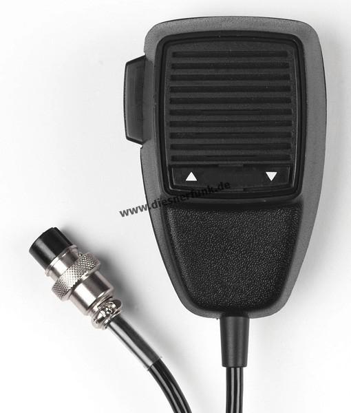 CB Funk Mikrofon Ersatz für Stabo XM 3003 XM 5003 6 Pol. UP/Down
