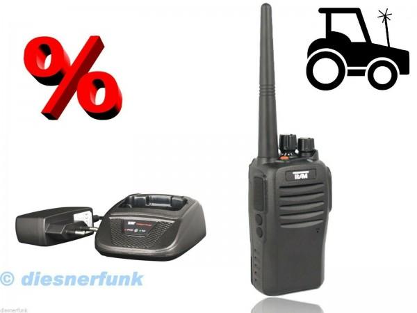 Team TeCom IP3 Agrarfunkgerät Maschinenring VHF programmiert