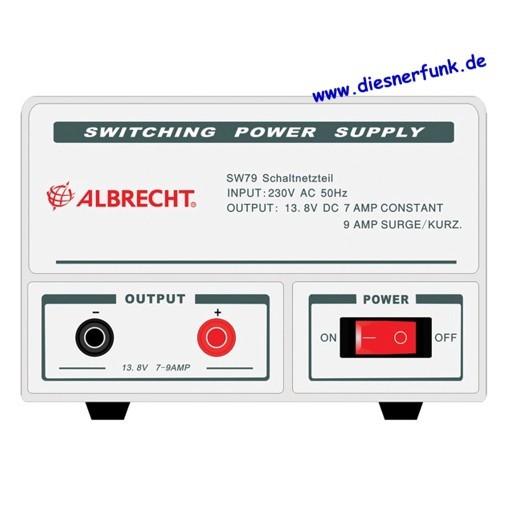 Albrecht Schaltnetzteil SW 79, 7-9 A, 13,8 V