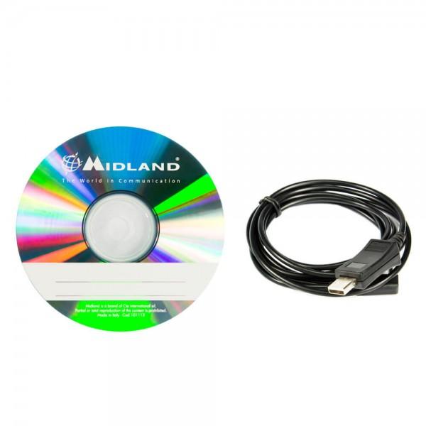 PRG-30 Programmierkabel & Software für Midland M-30