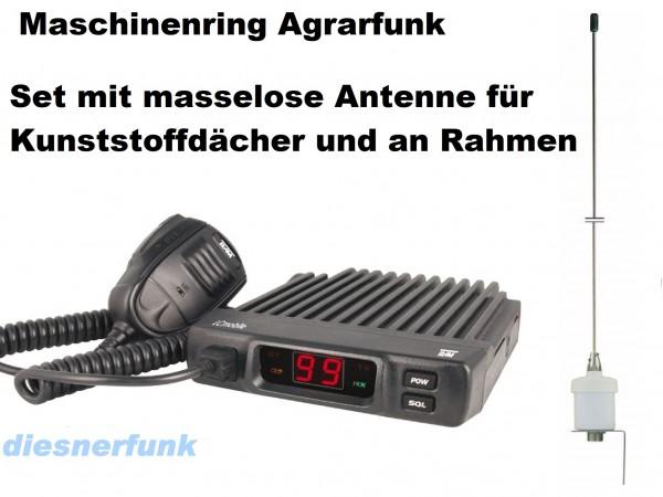 Team LCmobile Agrarfunkgerät Maschinenring VHF mit Masselose Antenne
