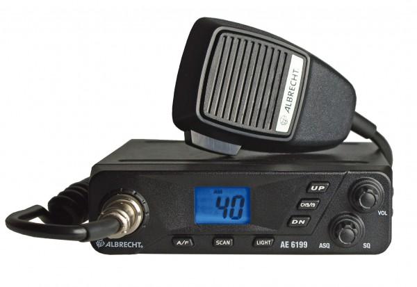 Albrecht AE 6199 CB Funkgerät 80/40 Kanal 4Watt FM/AM