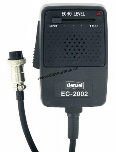 CB Funk Mikrofon Densei EC2002 Echo Verstärker Mike