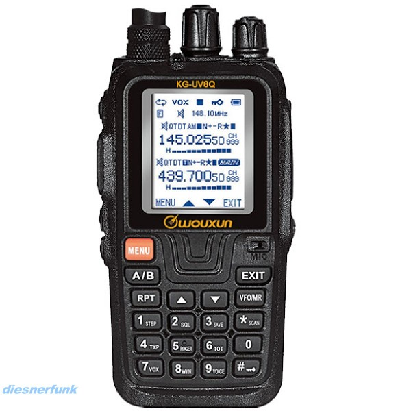 Wouxun KG-UV8Q 2m/70cm VHF/UHF Dualband Duplex Crossband Repeater