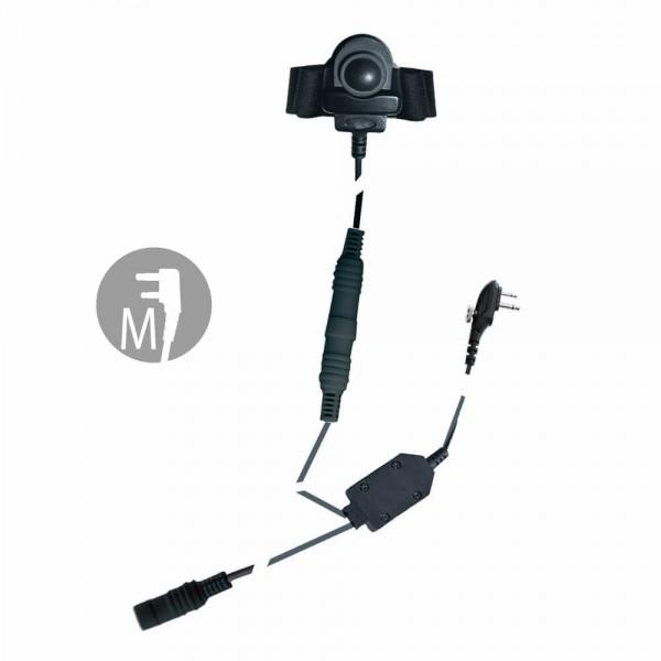 BHS 300 M Basisset Motorola M1 für COHS/CHS/OHS Motorradheadsets