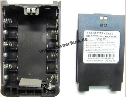 Batterieleergehäuse BAO-002 für Wouxun KG-816