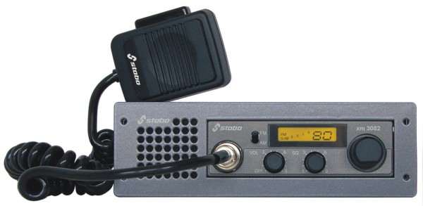 Stabo XM 3082 CB-Mobilfunkgerät mit DIN Einschubhalterung