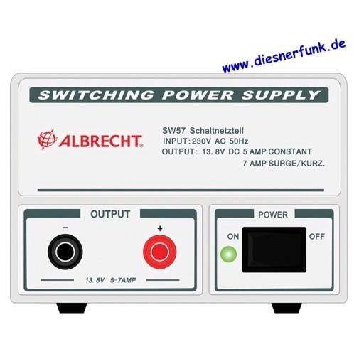Albrecht Schaltnetzteil SW 57, 5-7 A, 13,8 V