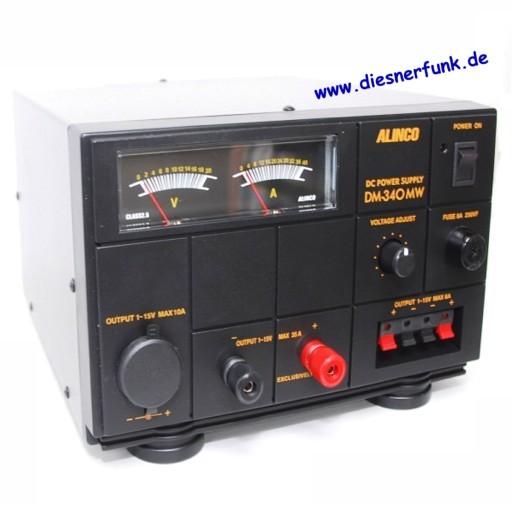 ALINCO DM-340-MW Trafonetzteil 1-15V DC, 35A