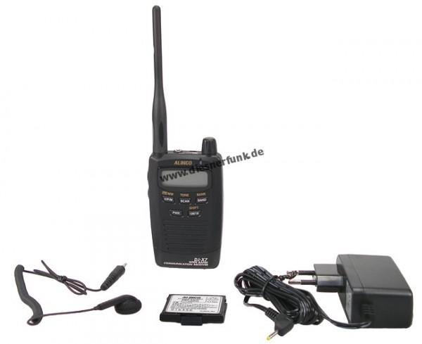 Alinco DJ-X7 0.1-1300 MHz lückenlos im Scheckkartenformat DJX7