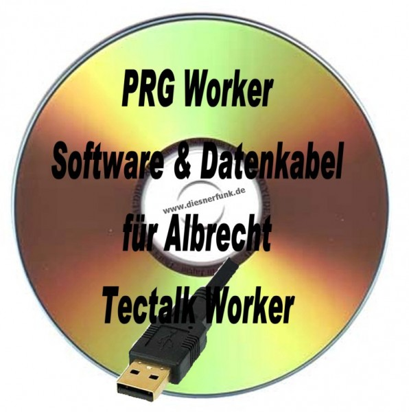 PRG Worker Programmierkabel & Software Albrecht Tectalk Worker