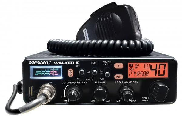 President Walker II Multinorm CB-Funkgerät mit ASC