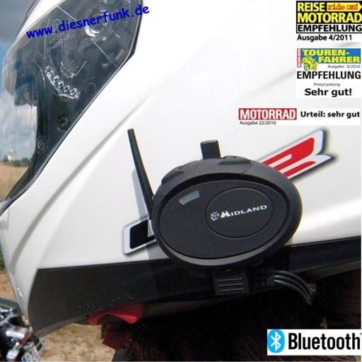 MIDLAND BT City Bluetooth System für Motorradhelme drahtlos
