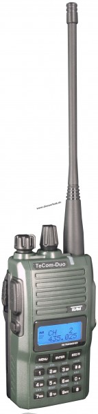 Team TeCom Duo-H DualBand Amateurfunkgerät VHF UHF