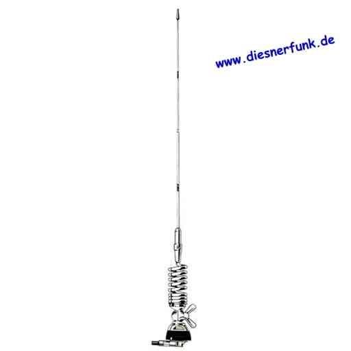 Sirio SMA 47/135S 46,5 - 61,5 MHz & 135-175 MHz kpl. mit Fuß+Ka