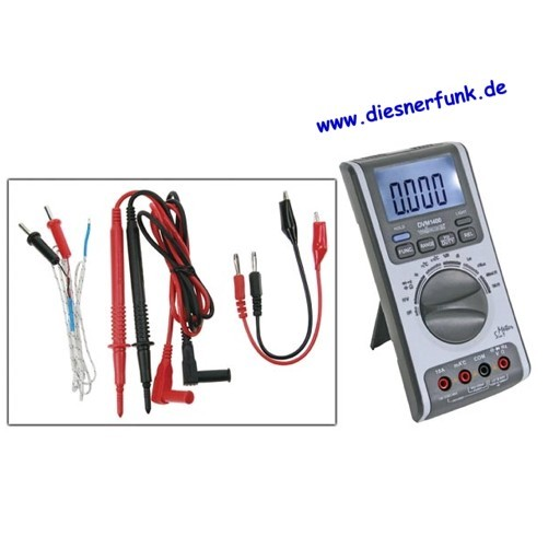 MULTIMETER 5 IN 1 THERMOMETER HYGROMETER SCHALL LUX DVM1400