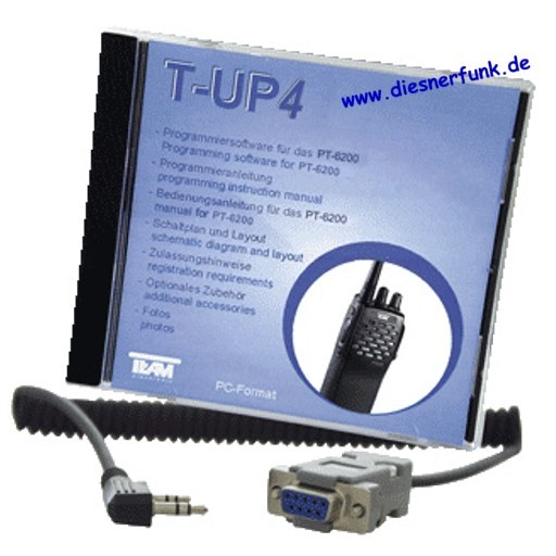 Team T-UP4 PC-Programmiersoftware für PT 6200