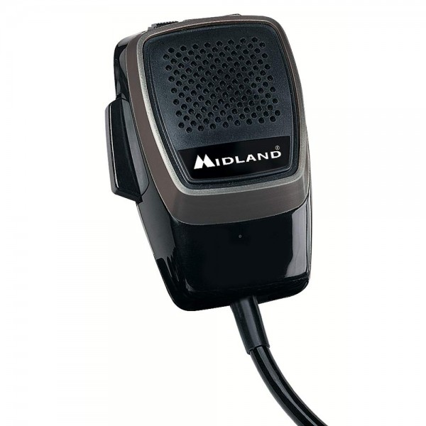 Originalmikrofon Midland M-20 CB Mikrofon mit Up/Down Tasten