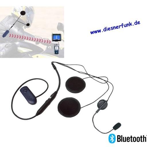 ALBRECHT BPA 300 BT-Jethelmheadset für Navi/Handy incl. OHS 500