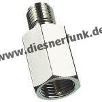FME-Adapter, FME-Stecker auf SMA-Buchse