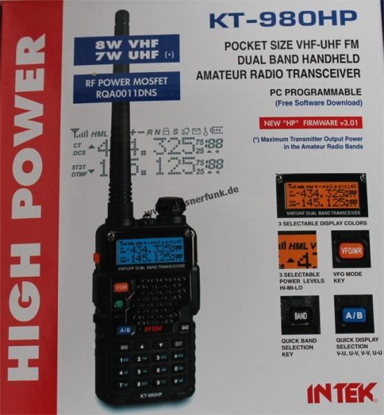 INTEK KT-980HP VHF/UHF DUOBAND Amateur-Handfunkgerät