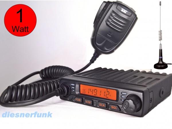 Team MiCo 6 Kanal Freenet VHF Mobil Funkgerät 1 Watt
