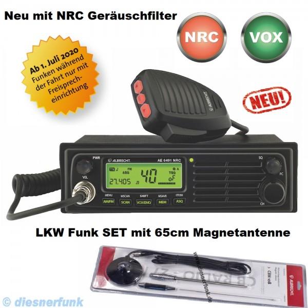 Albrecht AE 6491 NRC VOX CB Funkgerät & 65cm Magnet Antenne