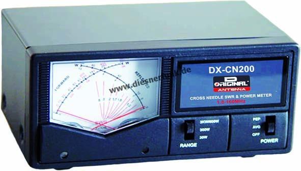 Team DX-CN 200 Professionelles SWR PWR Kreuzanzeigeinstrument