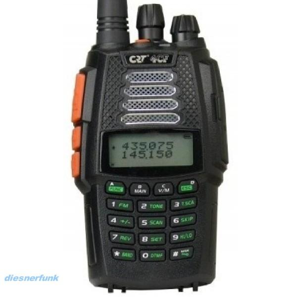 CRT 4CF V2 2m/70cm Dualband Handfunkgerät Breitbandempfänger