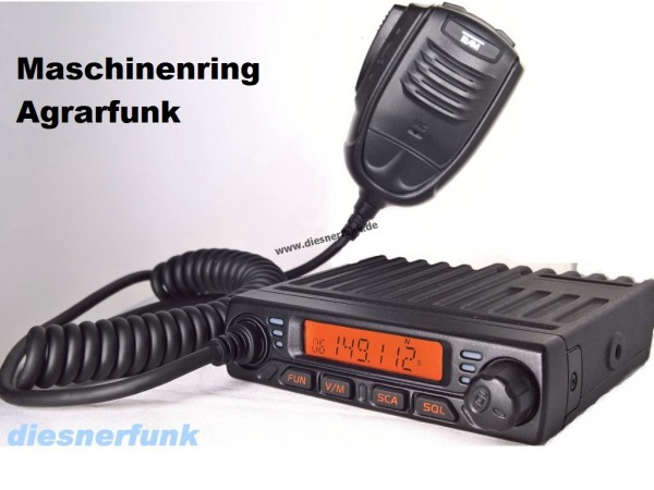 Team MiCo Agrarfunkgerät Maschinenring VHF programmiert