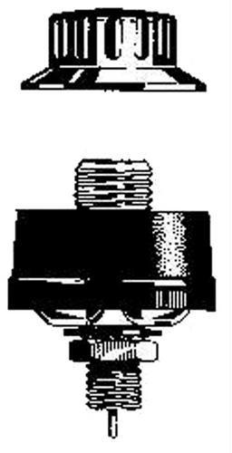 AS FUSS PL Einbaufuss für PL Antennen
