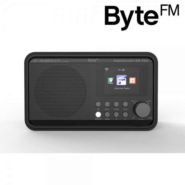 Albrecht DR 490 ByteFM, Digitalradio Internet/DAB+/UKW