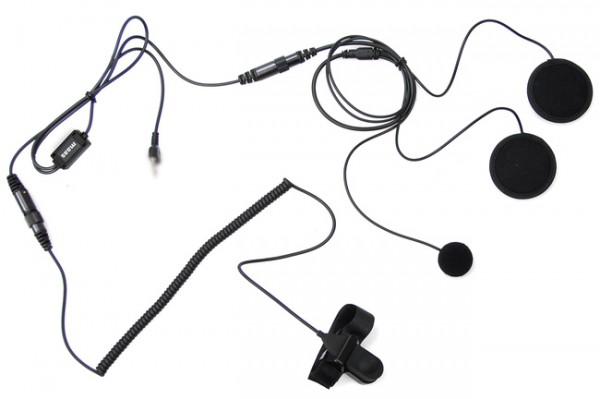 HS-2000 PRO-S Helm-Headset für geschlossene Helme