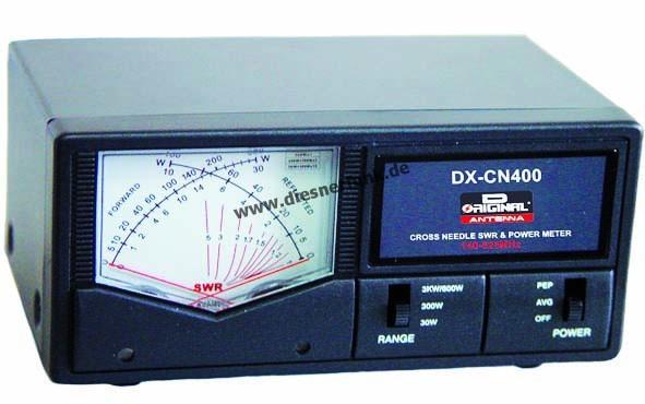 Team DX-CN 400 Professionelles SWR PWR Kreuzanzeigeinstrument