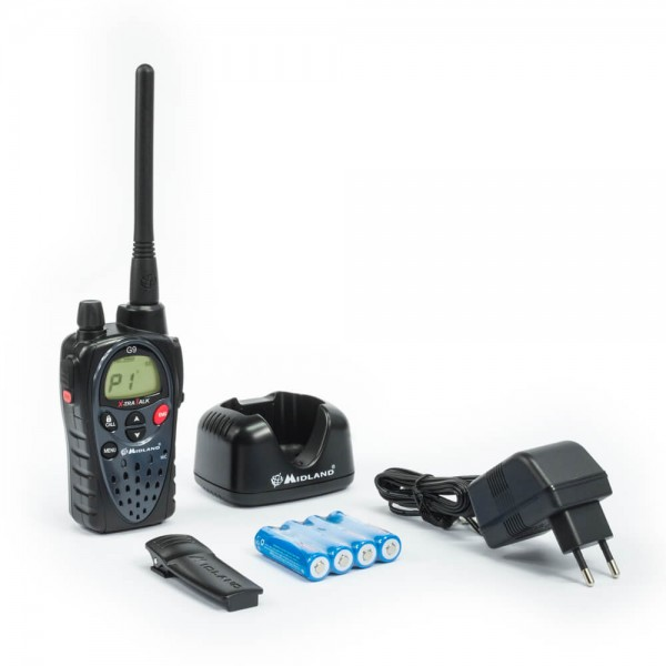 Midland G9E PLUS mit BOOST Taste PMR446 Funkgerät