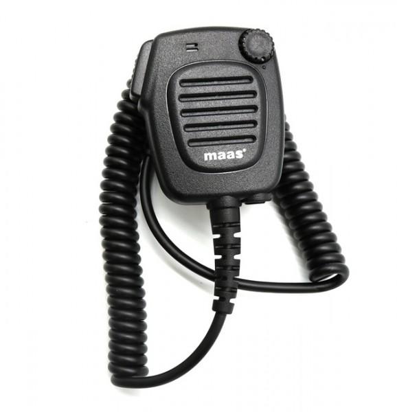 MAAS KEP-700-K Lautsprechermikrofon mit Volumeregler