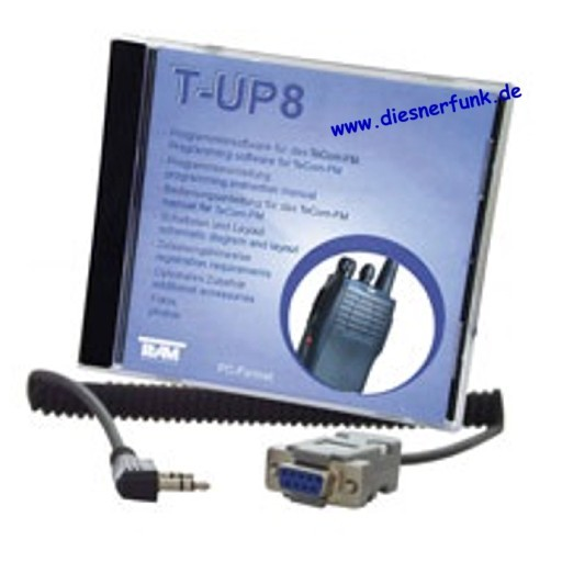 Team T-UP8 PC-Programmiersoftware für TeCOM-FM COM