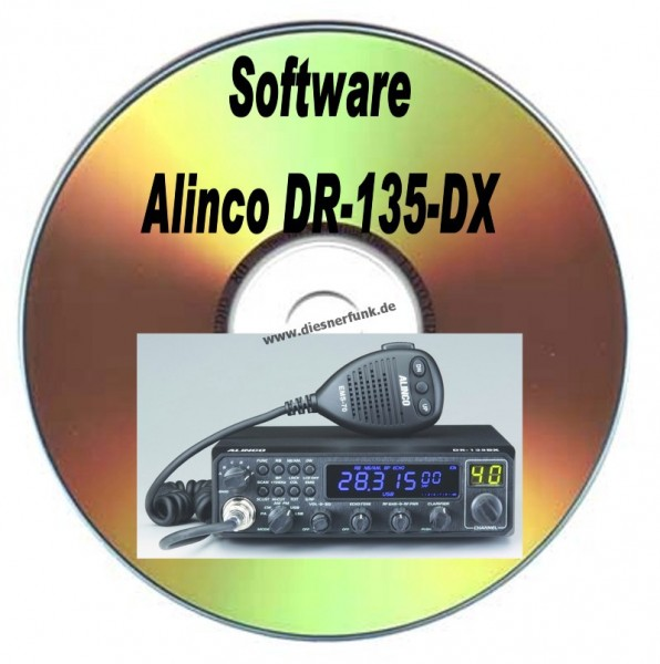 ALINCO DR-135-DX Software