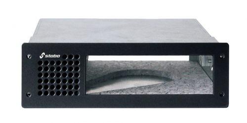 Stabo DIN-Rack Einbauhalter mit Schallkanal für die XM30xx-Serie