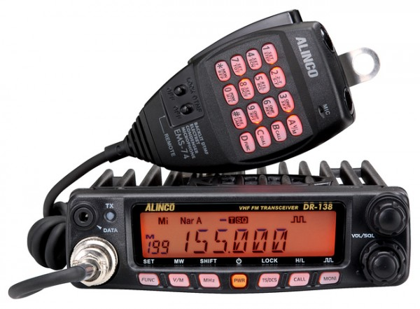 ALINCO DR-138-HE Mobilfunkgerät VHF 60 Watt