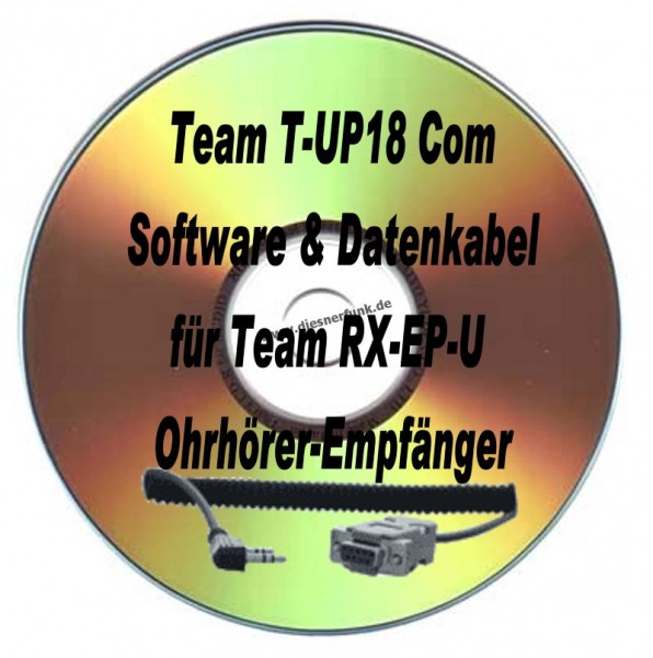 TEAM T-UP18 COM Programmierkabel & Softw Team RX-EP-U