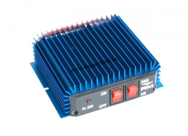 KL 203 blue CB Funk Verstärker Brenner 20-30MHz KL203