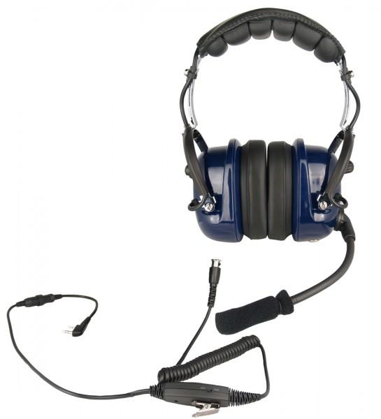H&G-450-M PROFI Kopfhörer mit flexiblem Rüsselmikrofon