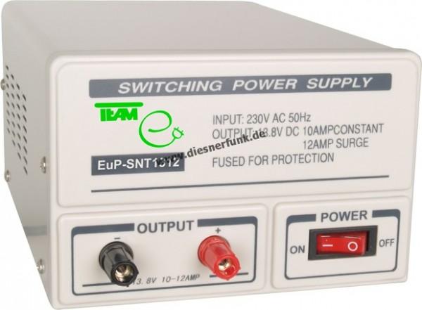 Team Schaltnetzteil EuP SNT 1312 für Funk 10-12 A 13,8 V