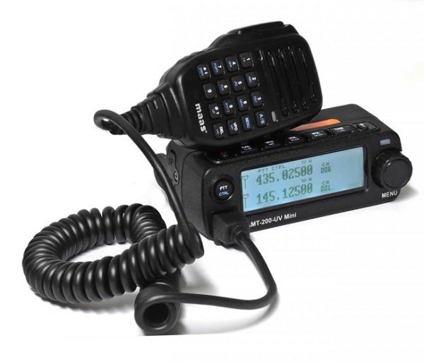 MAAS AMT-200-UV Mini Mobilfunkgerät VHF/ UHF